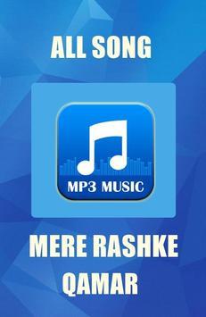 MERE RASHKE QAMAR Hit Songs poster