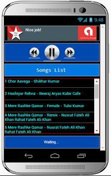 MERE RASHKE QAMAR Hit Songs screenshot 1