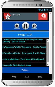 All Song VUNNADHI OKATE ZINDAGI apk screenshot