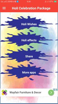 Holi Status and Images poster