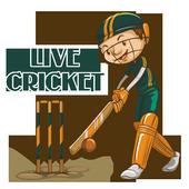 Live cricket sports icon