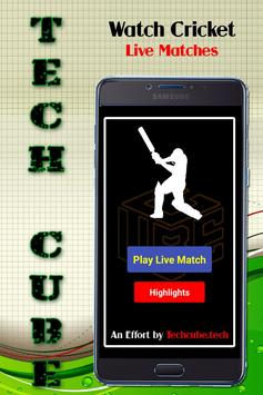 Live cricket sports screenshot 1
