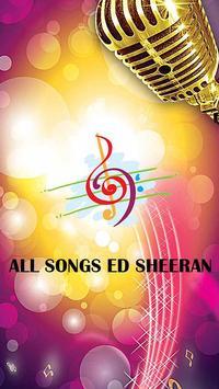 All Songs ED_SHEERAN poster