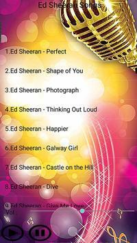 All Songs ED_SHEERAN apk screenshot