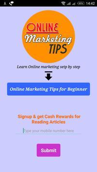 Online Marketing poster
