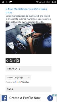 Online Marketing screenshot 4
