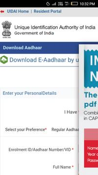 All sarkari work : Pancard, Aadharcard & voterid screenshot 2