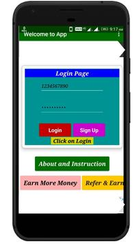 Money Earner - The Online money making app poster