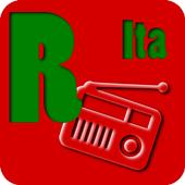 Italian radio stations icon