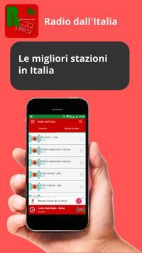 Italian radio stations screenshot 1