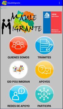 Maule Migrante poster