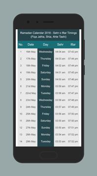 Ramadan timeing 2018 (kashmir's offical app) screenshot 3