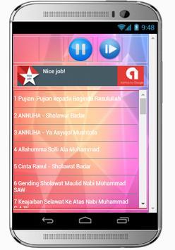 Kumpulan SHOLAWAT NABI Lengkap apk screenshot
