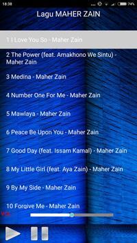 Lagu MAHER ZAIN Lengkap apk screenshot