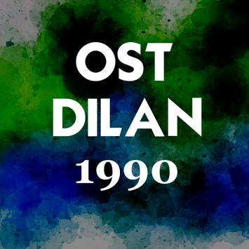 Ost.Dilan 1990 poster