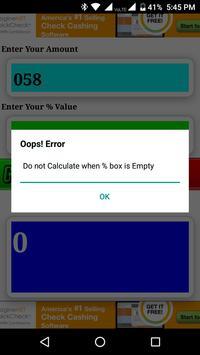Percent Calculator screenshot 4
