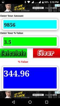 Percent Calculator screenshot 6