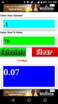 Percent Calculator screenshot 7