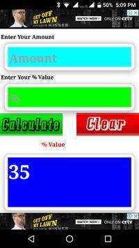 Percent Calculator poster
