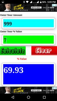 Percent Calculator screenshot 2