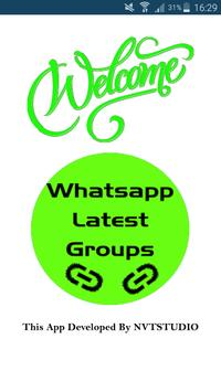 Groups for Whatsapp 2018 poster