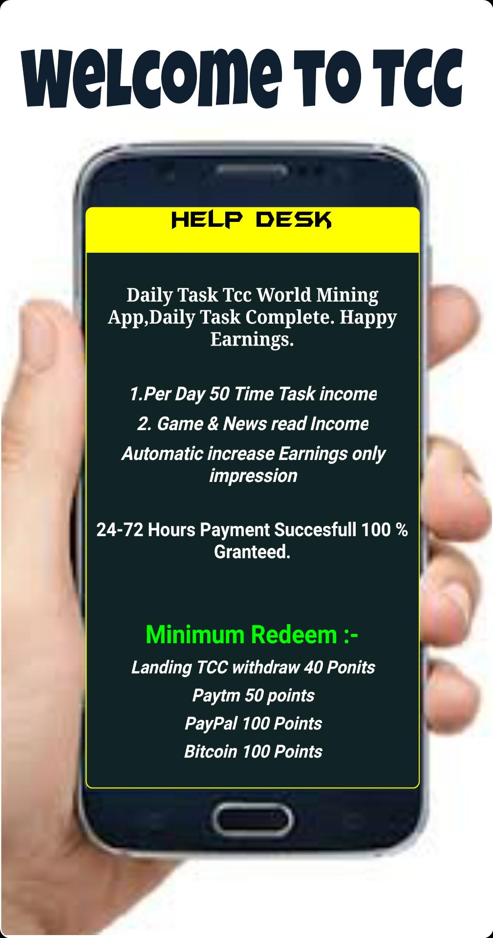 Tcc World Digital Bitcoin Wallet For Android Apk Download