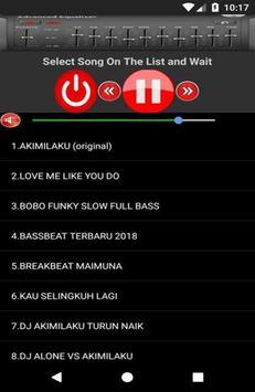 DJ AKIMILAKU Mp3 screenshot 2