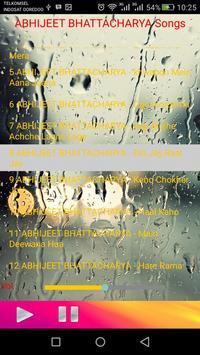 ABHIJEET BHATTACHARYA songs apk screenshot