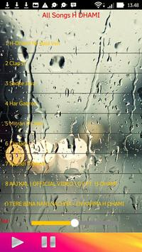 All Songs H DHAMI apk screenshot