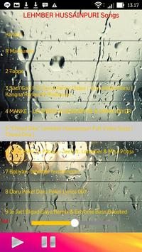 LEHMBER HUSSAINPURI Songs apk screenshot