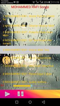 MOHAMMED RAFI Songs apk screenshot