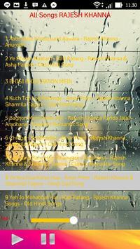 All Songs RAJESH KHANNA apk screenshot