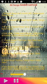 All Songs RANBIR KAPOOR screenshot 1