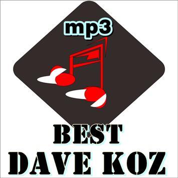 DAVE KOZ Music poster