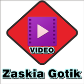 Video music Zaskia Gotik icon