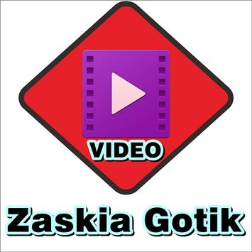 Video music Zaskia Gotik poster