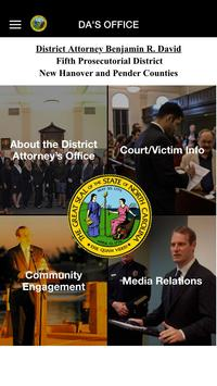 Fifth Prosecutorial Dist of NC poster