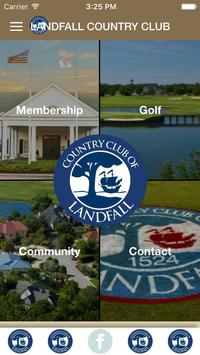 Country Club of Landfall poster