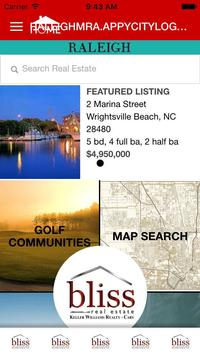 Raleigh Real Estate poster