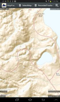 MapPack GPS YellowStone screenshot 2