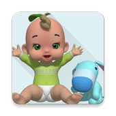 Cute Talking Baby icon