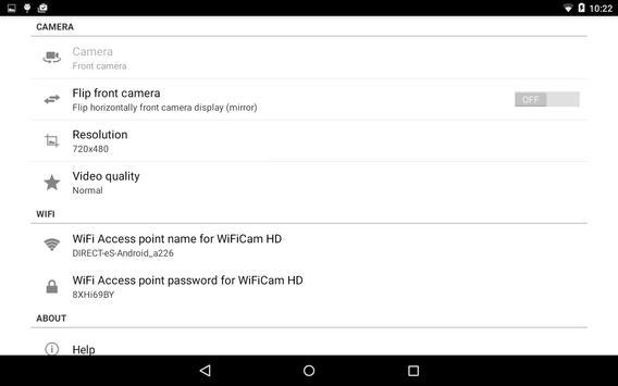 WiFiCam HD for VideoCoach screenshot 7