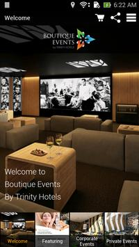 Trinity Boutique Event poster
