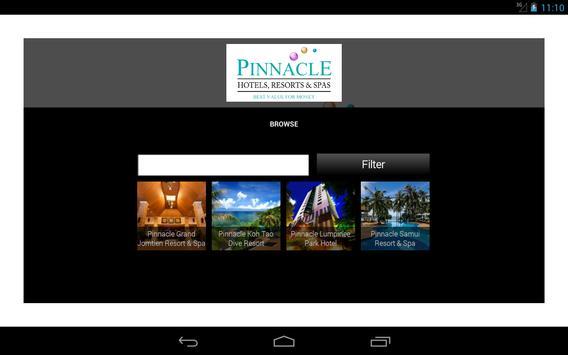 Pinnacle Hotels Resorts & Spas screenshot 6