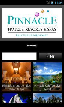 Pinnacle Hotels Resorts & Spas poster