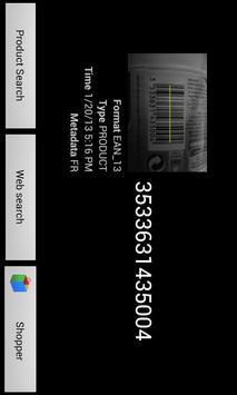 QR Reader Free Barcode Scanner apk screenshot