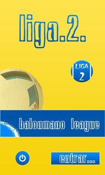 Organizador Liga de Balonmano poster
