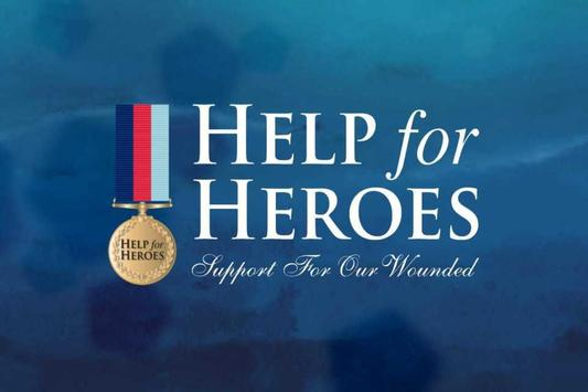 Help for Heroes ChristmasBears poster