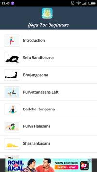 Yoga Tips For Beginners poster