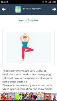 Yoga Tips For Beginners screenshot 1